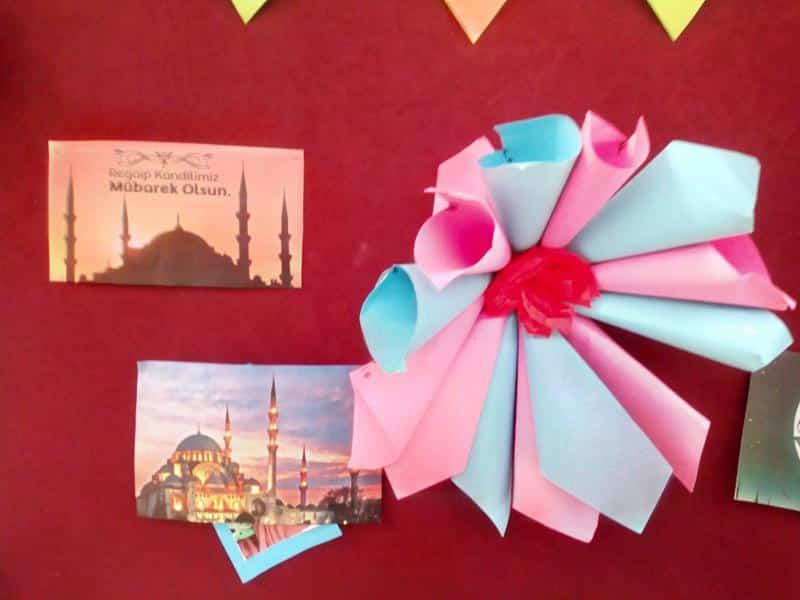 Regaip Kandili Panomuz 1 Katta Sergileniyor Sumer Imam Hatip