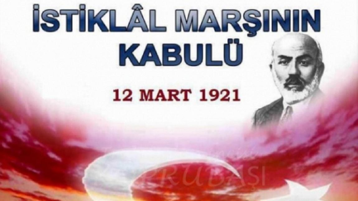 12 Mart Istiklal Marsinin Kabulu Siir Yarismasi Sumer Imam Hatip